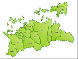 香川県古書古本買取地図